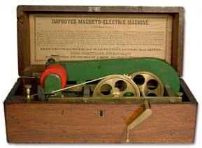 magnetoelectric machine